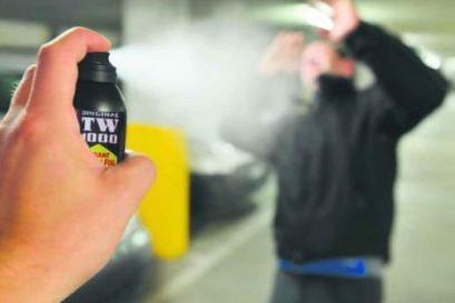 Spray al peperoncino usato per autodifesa - Foto Ansa © www.giornaledibrescia.it