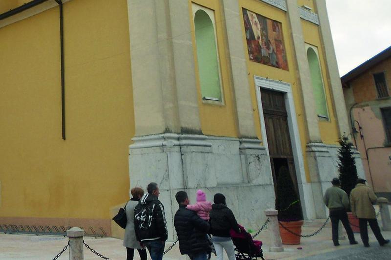 La parrocchia di Santa Maria nascente