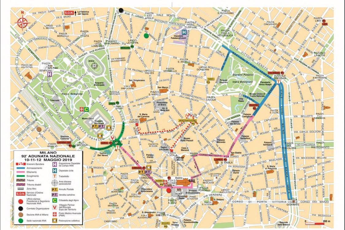 Cartina Italia Brescia