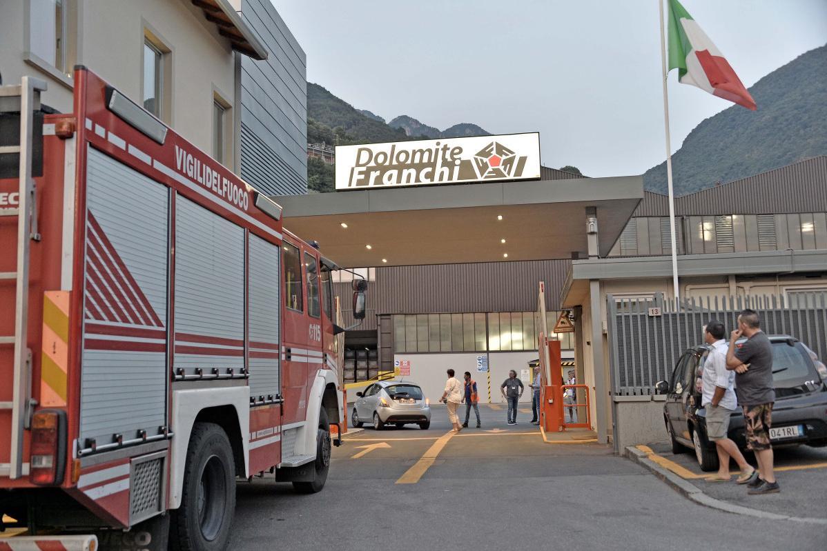 Operaio di Montisola muore schiacciato alla Dolomite Franchi - Giornale di Brescia