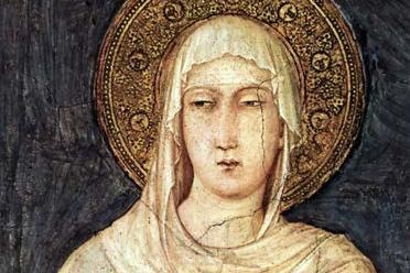 Santo Del Giorno Calendario.Oggi Si Festeggia Santa Chiara Di Assisi Patrona Della Tv
