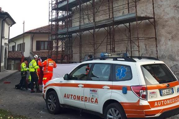 Il luogo della tragedia a Mura - © www.giornaledibrescia.it