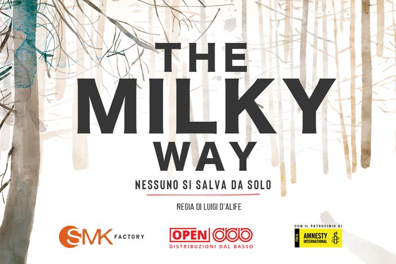 La locandina del film The milky way