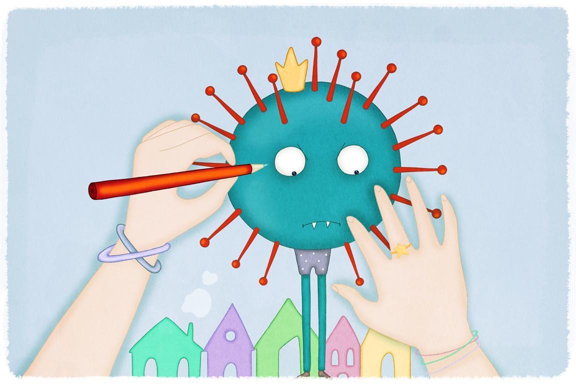 Coronavirus, la filastrocca per i bambini di Roberto Piumini