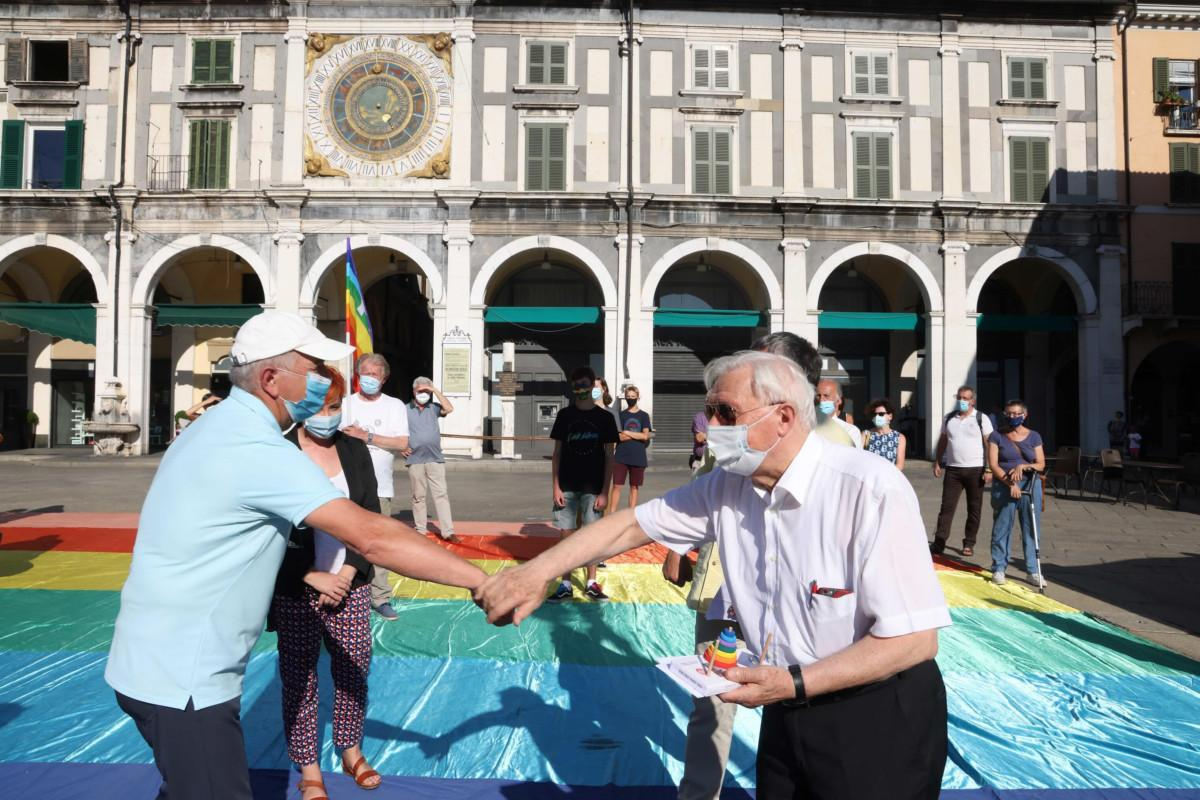 In piazza Loggia la commemorazione di Hiroshima