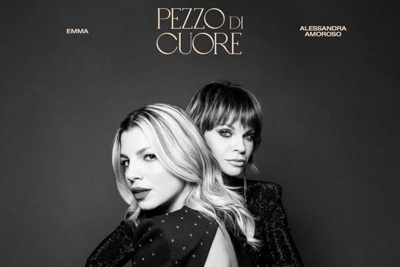 Emma e Alessandra Amoroso insieme per «Pezzo di cuore»