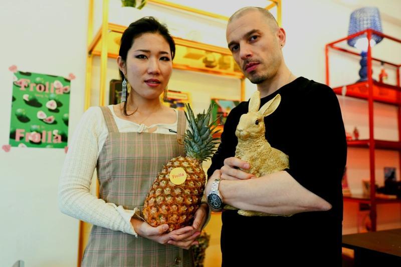 Fausto Zizioli e sua moglie Chu - Foto © www.giornaledibrescia.it