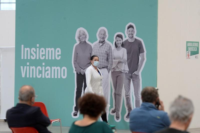 L'hub in Fiera a Brescia - Foto Marco Ortogni/Neg © www.giornaledibrescia.it