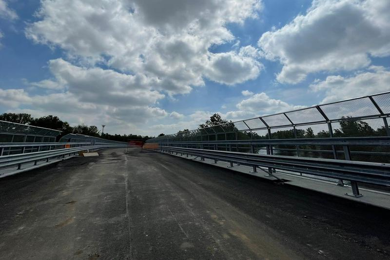 Striscia d'asfalto: la nuova strada favorirà i collegamenti e proteggerà il centro abitato di Pontoglio