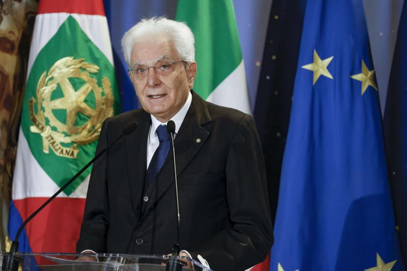 Il presidente della Repubblica, Sergio Mattarella - Foto Ansa/Francesco Ammendola © www.giornaledibrescia.it