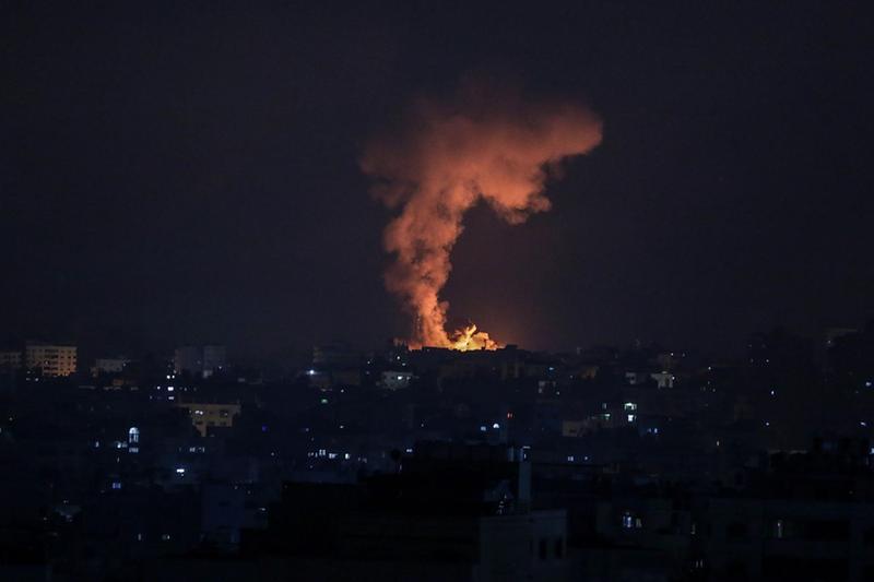 Attacco di Israele a Gaza - Foto Ansa  © www.giornaledibrescia.it
