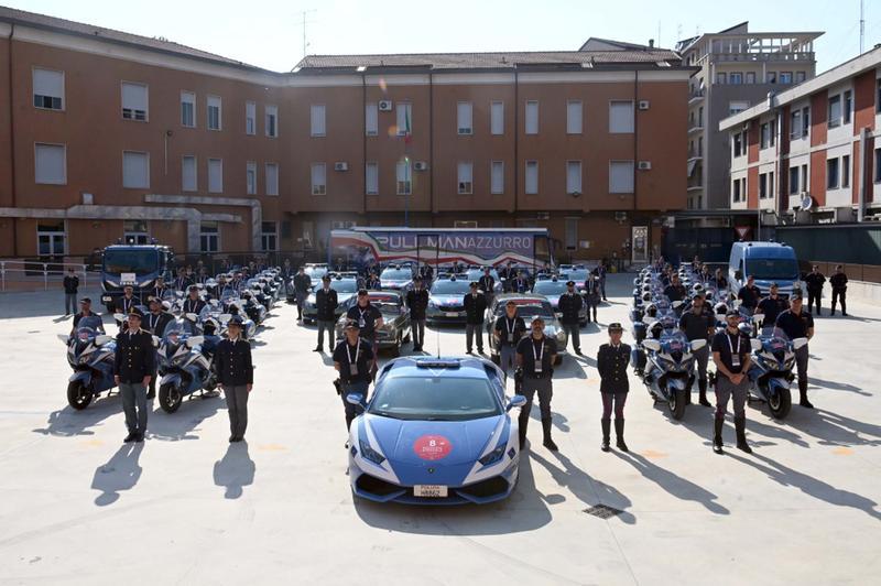La Polizia Stradale impegnata nella Mille Miglia 2021 - Foto Gabriele Strada /Neg © www.giornaledibrescia.it