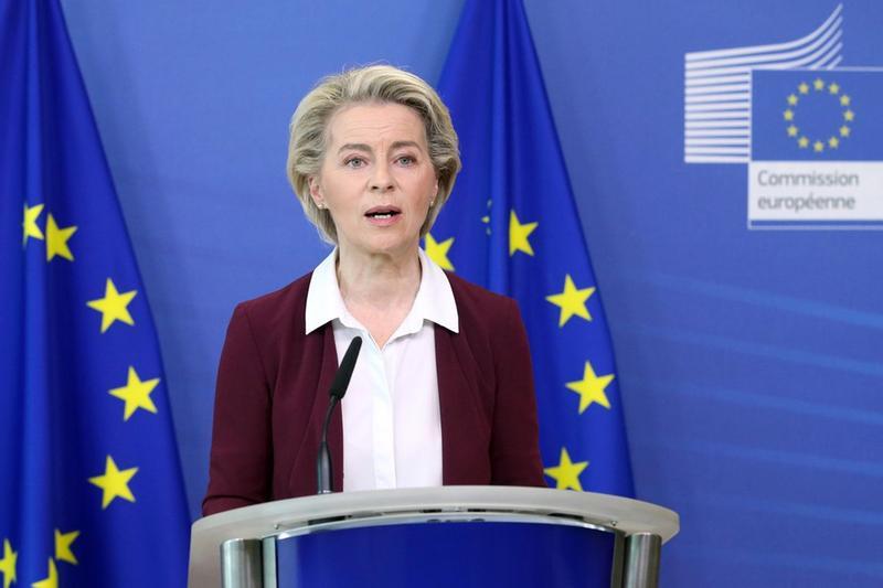 La presidente della Commissione europea Ursula von der Leyen - Foto Epa © www.giornaledibrescia.it
