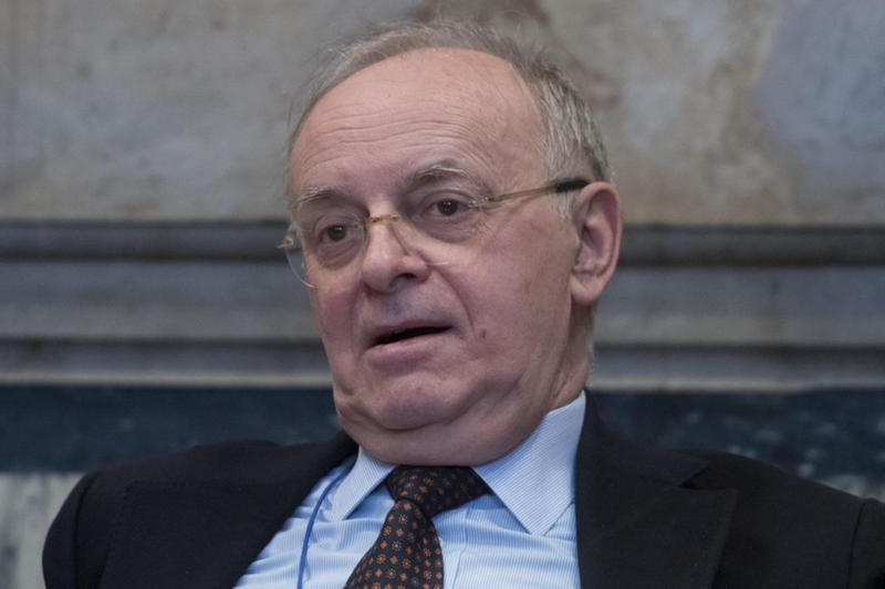 L'ex consigliere del Csm Piercamillo Davigo in una foto di archivio del 23 febbraio 2018