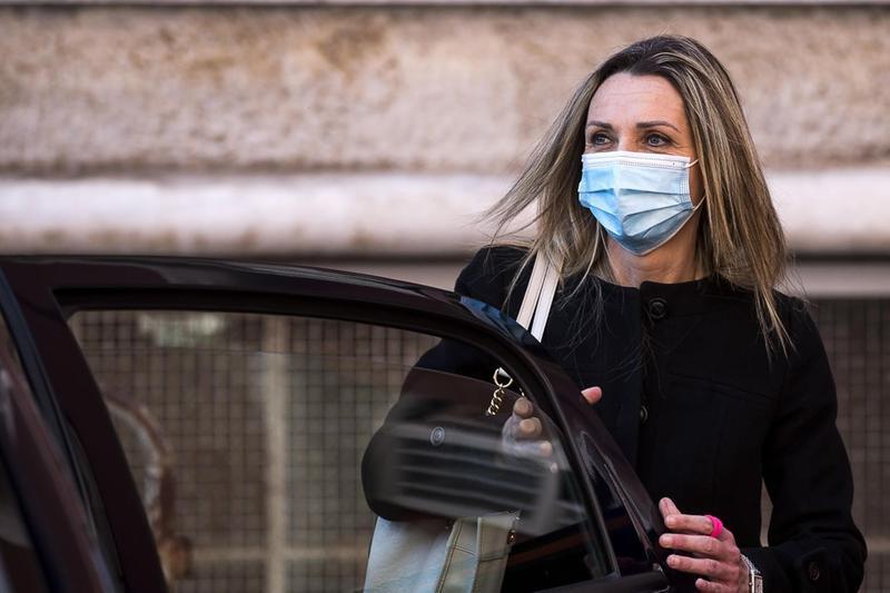 Valentina Vezzali, ex atleta olimpica e sottosegretaria allo sport - Foto Ansa/Angelo Carconi © www.giornaledibrescia.it