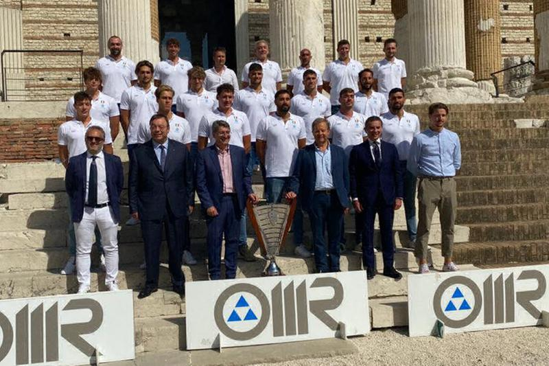An Brescia, la squadra presentata al Capitolium - © www.giornaledibrescia.it