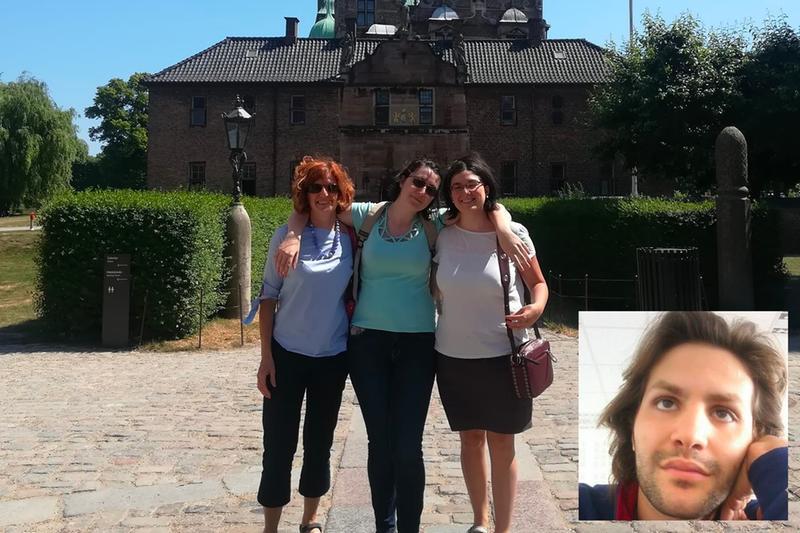 Da sinistra Laura Ziliani, Paola e Silvia Zani. Nel riquadro Mirto Milani - Foto tratte dai profili Facebook