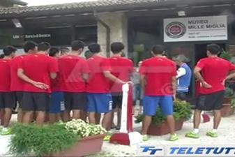 Pallanuoto la nazionale cinese si allena a lamarmora - Piscina lamarmora ...